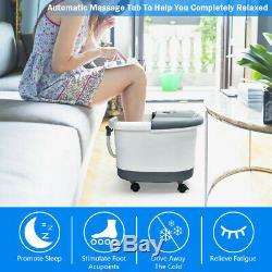 Shiatsu Portable Bouillotte Baignoire Spa Rouleau Motorisé Relax Massage Nouveau
