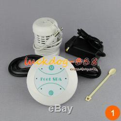 Simple Et Ce Detox Spa Ionique Aqua Ion Spa Bain De Pieds Nettoyer Cellule Set + Tableau