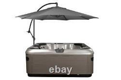 Spa Side 10 Pieds Cantilever Parapluie Avec Hot Tub Base Under-mount