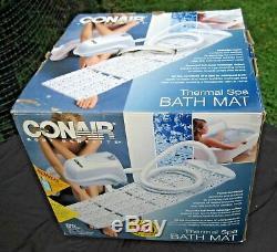 Tapis De Bain Spa Complet Conairthe Ultimate Thermal Spa Massages Pour Le Dos Et Les Pieds Jacuzzi