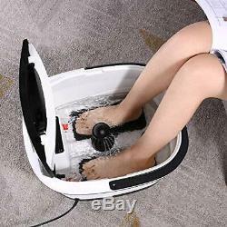 Tubytime Foot Spa Bain De Massage Avec Chaleur Et Jets Bubble, Motorisé Shiatsu