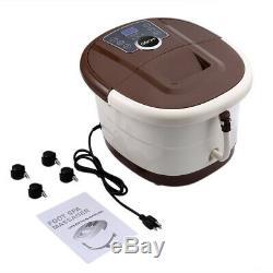 Us Vendeur Pied Portable Spa Bain Motorisé Massage Pieds Électrique Salon Baignoire Accueil