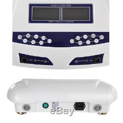 Utilisateur Double Spa Machine Bain De Pieds Ionique Désintoxication Cellulaire Cleanse Couleur Écran LCD