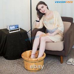 Veicomtech 2021 Mise À Niveau Aqua Detox Ionic Foot Baignoire Detox Machine Avec Bassin
