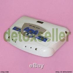 Vente! Double Ion Detox Spa Ion Cellulaire Detox Bain De Pieds Ionique Nettoyer La Machine Mp3