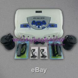 Vente Double Utilisateur Ionique Spa Bain De Pieds De Désintoxication Cellulaire Nettoyer La Machine Mp3 + 2 Tableaux Ce