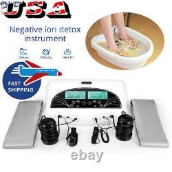 Vente! Dual Ion Detox Foot Spa Ion Cell Detox Foot Bath Ionic Cleanse Machine