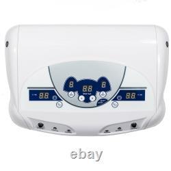 Vente Dual User Ionic Foot Bath Spa Detox Cell Cleanse Machine Mp3 + 6 Arrays Ce