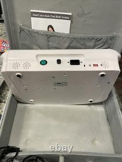 Vitaciti 130w Dual User Foot Bath Spa Ionic Detox Cell Machine