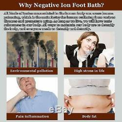 Vitaciti Ion Detox Ionique Bain De Pieds Machine Aqua Cleanse Spa Avec Baignoire, 2 Rangées A