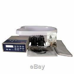 Vitaciti Ion Ionique Detox Bain De Pieds Aqua Cleanse Spa Machine Avec Baignoire, 2 Tableaux Un
