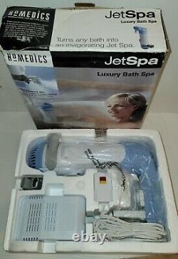 (neuw Open Box!) Homedics Jetspa Bain De Luxe Jet Spa Dual Jets Whirlpool Jet-1