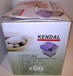 (nouvelle Boîte Ouverte, Voir Liste!) Bain Spa Kendal Si-fbd2535 Deep Foot Massager